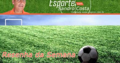 No ponto do esporte, com Sandro Costa.