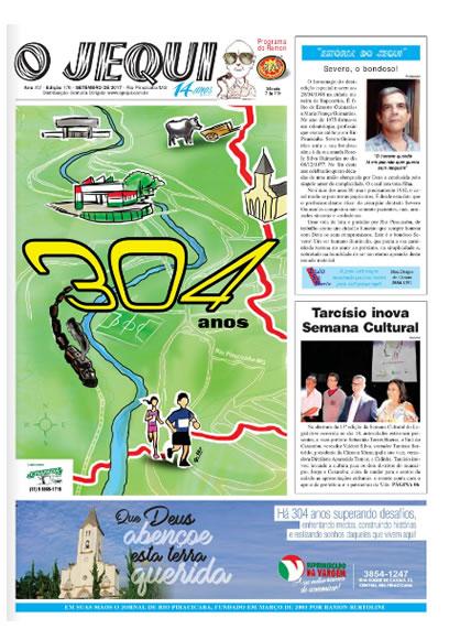 Jornal o Jequi - nº 176 - Setembro/2017